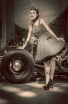 Rat rod Lady - Yvan Litré